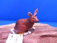 ウサギ 茶 (Papo社製)