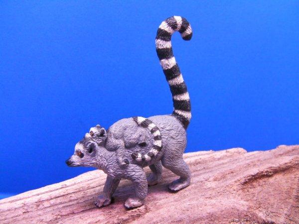 画像4: ワオキツネザル (Papo社製)